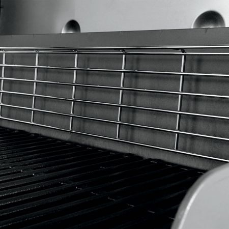 Tuck-Away Warming Rack Incorporated On All Genesis II Gas Grills