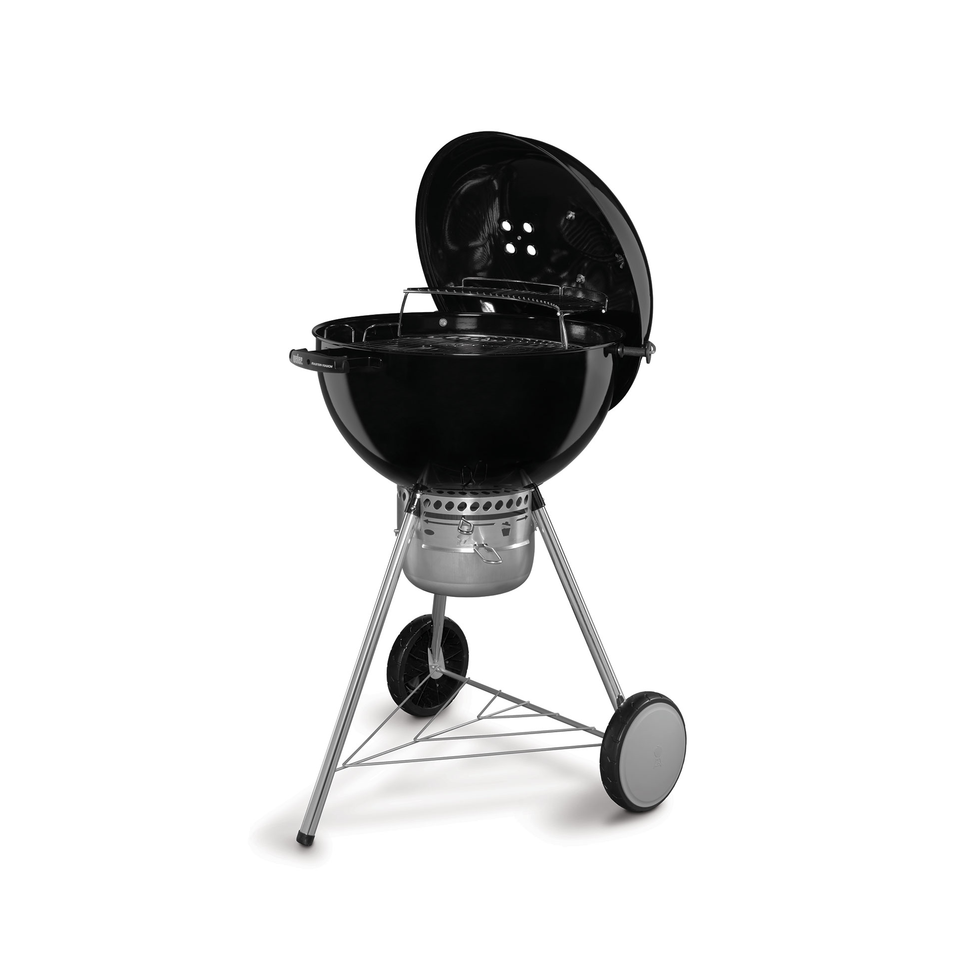 Weber 22 master touch charcoal grill leisure living for Weber master touch