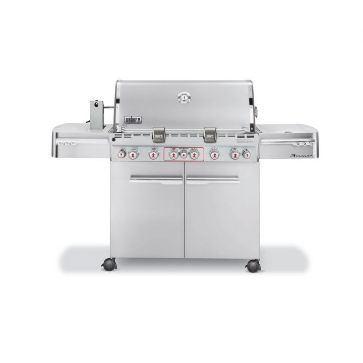 Weber Summit S-670 Gas Grill Stainless Steel