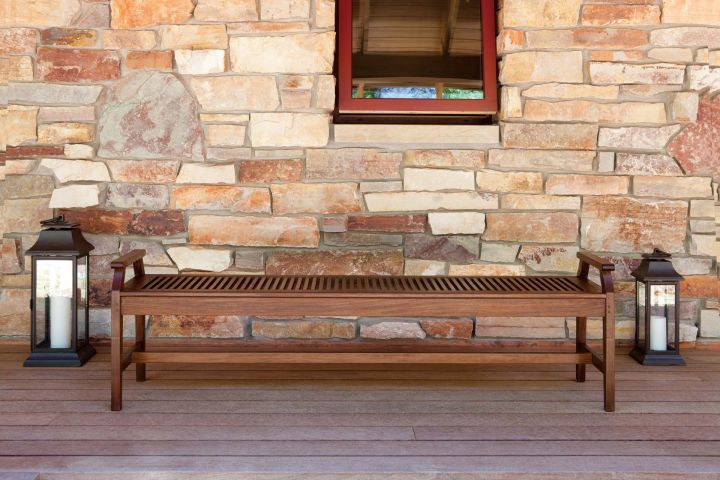jensen leisure Opal 6 foot bench with armrests
