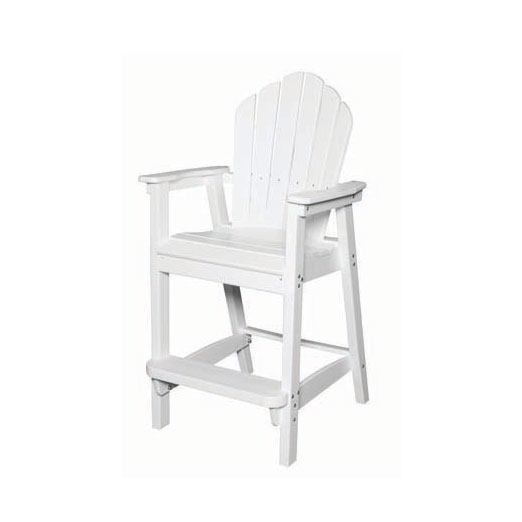 Seaside Casual Adirondack Classic Bar Chair