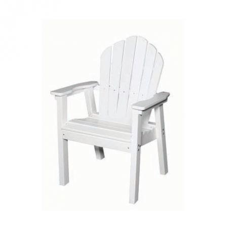 Seaside Casual Adirondack Classic Dining Chair